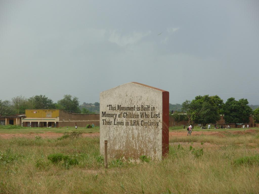 Monument to captured children.