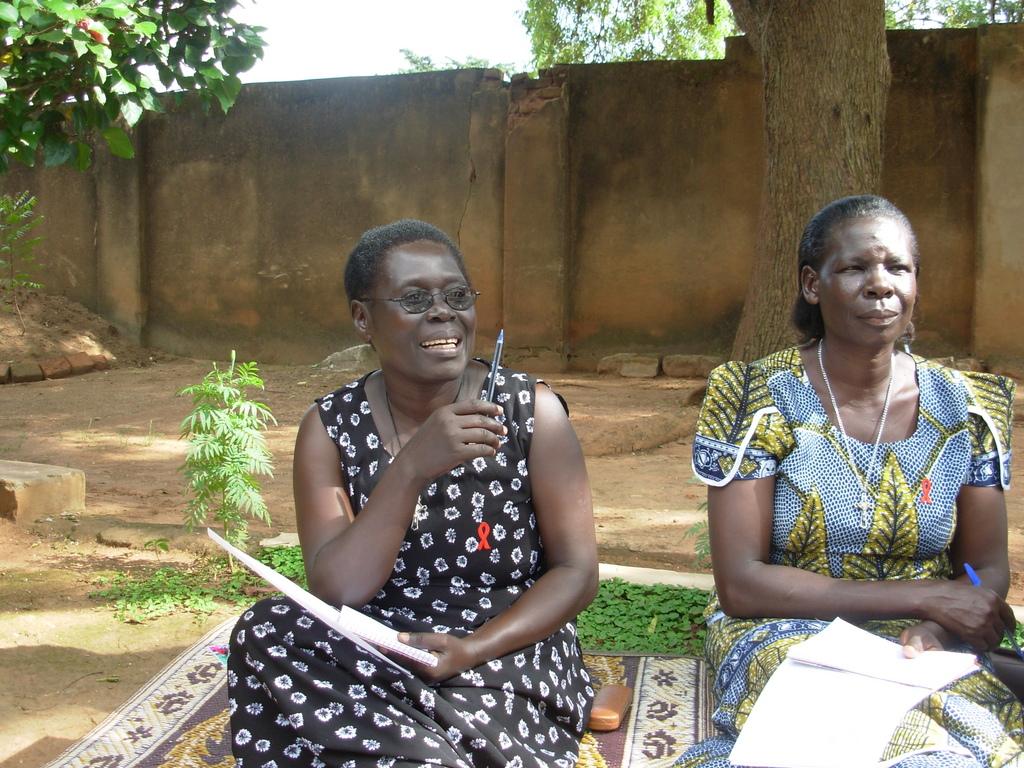 Acholi women leaders.