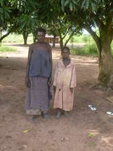 HIV+ Mother and child from Oyuru Village
