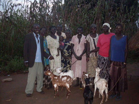 Nge Yot Komi group, Oryang Ojuma, Kitgum District.