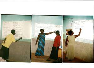 Acholi Women helping and training their community