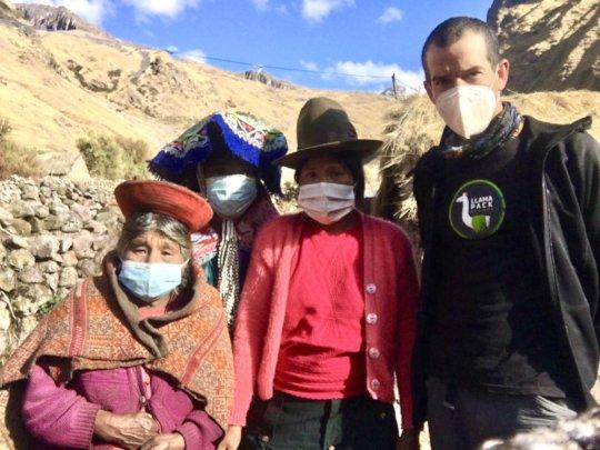 1. Coordination visit to Cancha Cancha community.