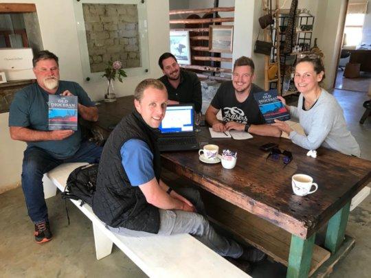 The team at Black Oystercatcher Restaurant