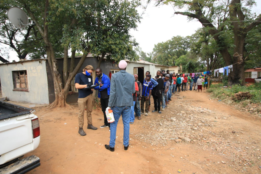 FOOD RELIEF COMMUNITY OUTREACH INTO ZANDSPRUIT