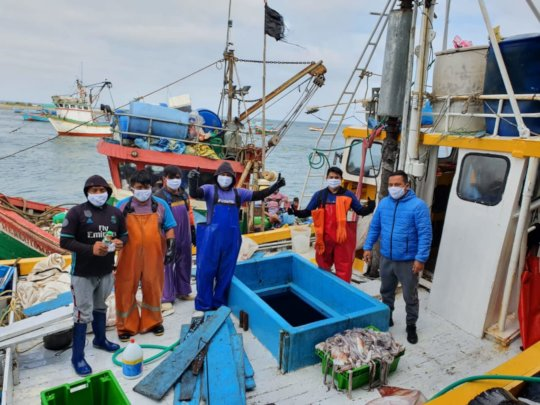 Fishers in Parachique