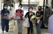 Food packs for women affected by Covid19