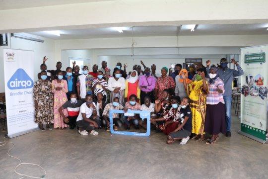 Community Air Quality Champions training event