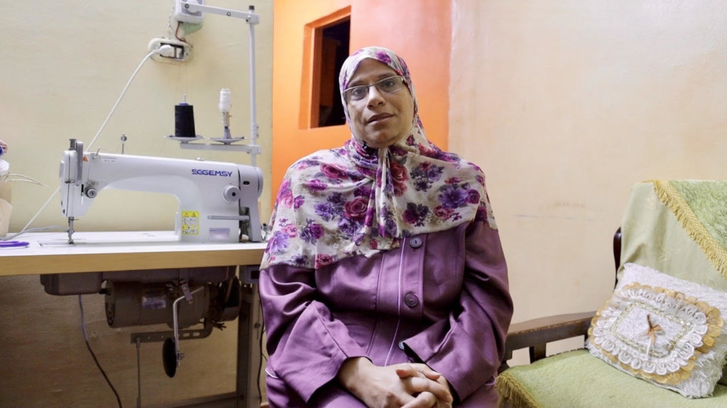 Amany - A Breadwinner Who Accessed Healthcare