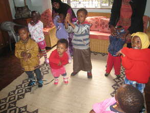Even the Safe House babies love to dance