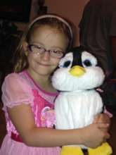 Sammy our Comfort Penguin & Autumn