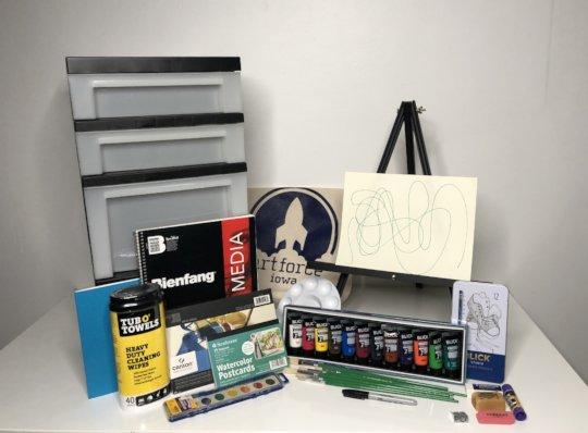ArtForce Iowa Supply Kit