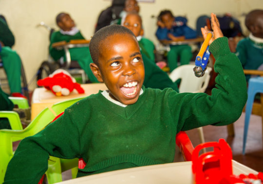 Help 96 Children with Disabilities THRIVE in Kenya