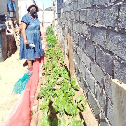 Ceceila says raw veg helps her blood pressure