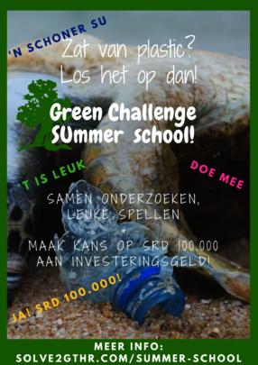 Promoting the green challenge summer school