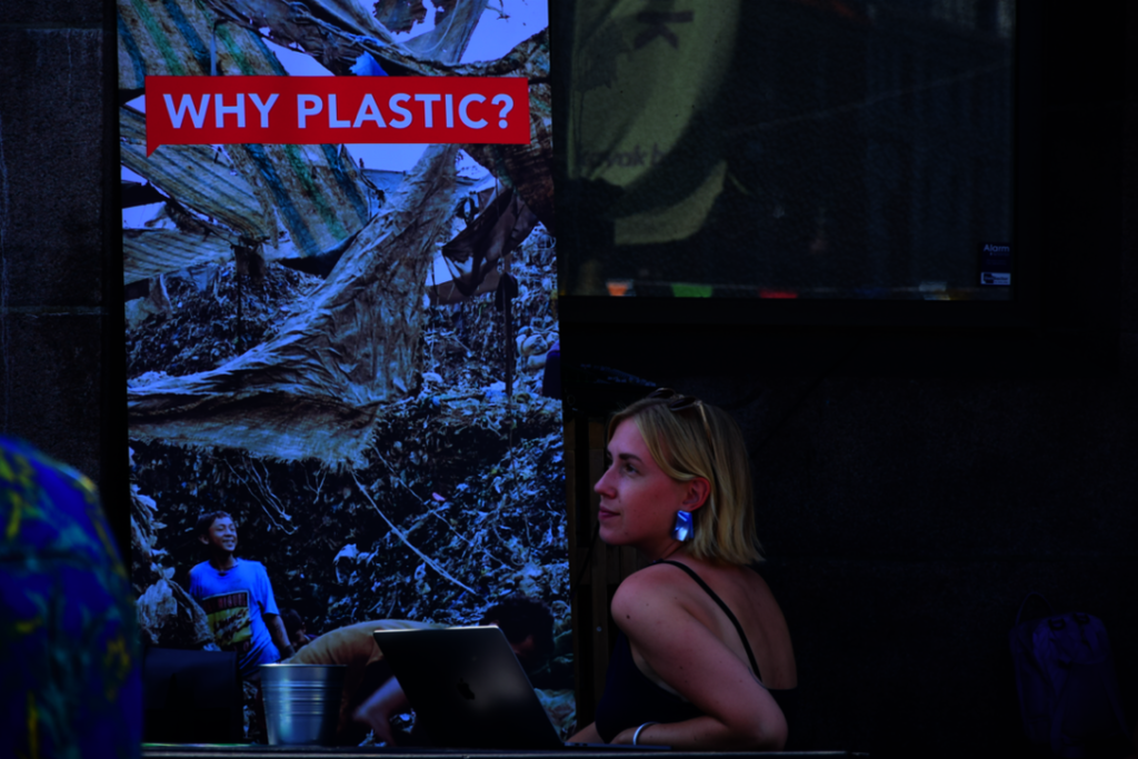 WHY PLASTIC? campaign was presented in August.