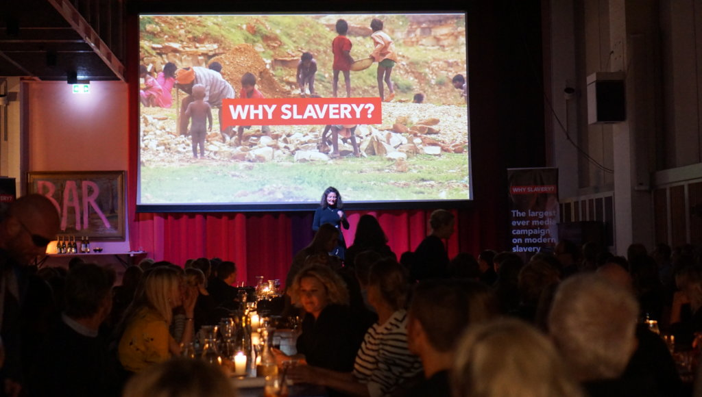 Launch of THE WHY previous campaign WHY SLAVERY?