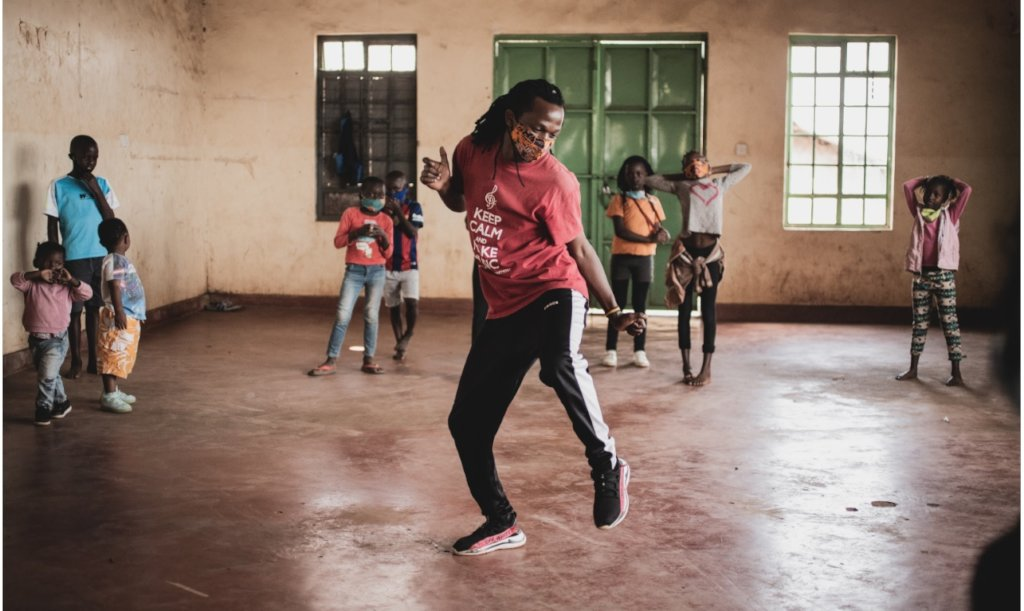 Keep at-risk children dancing and fed in Kenya
