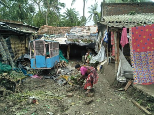 Help recovery from Cyclone Amphan in West Bengal