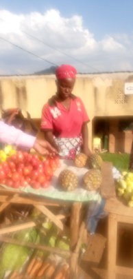Women in a small business with income generation