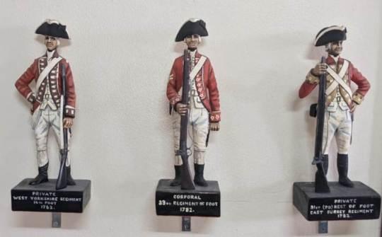 Figurines from our Interpretation Centre