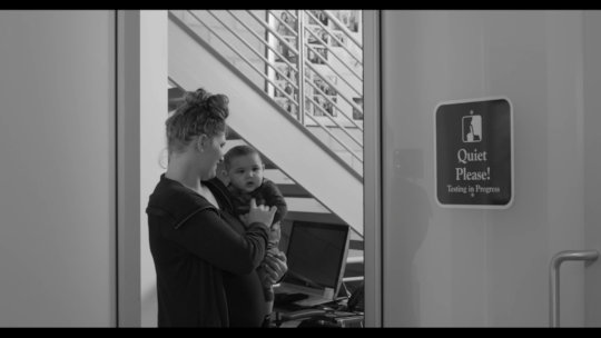 Teen With Baby Comes to Headquarters for GED Test