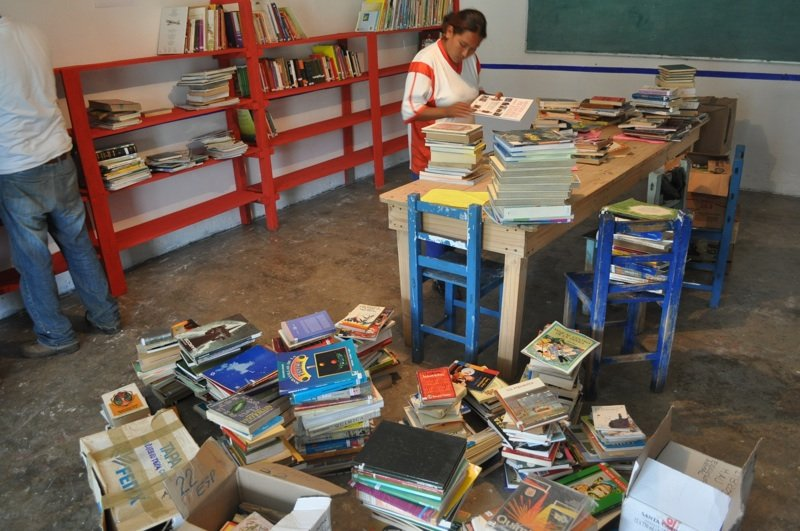 Library at Xúchitl