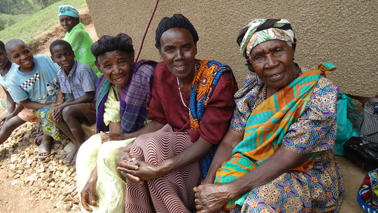 Some of the grandmothers YOU are helping.