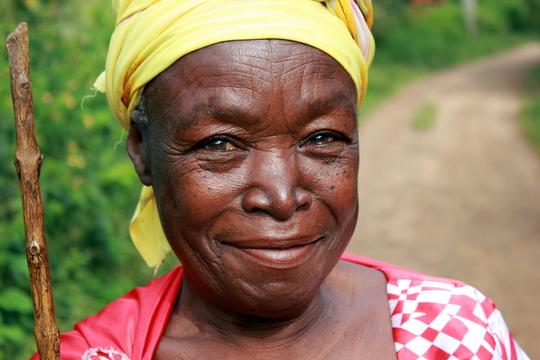 A Beautiful Grandmother
