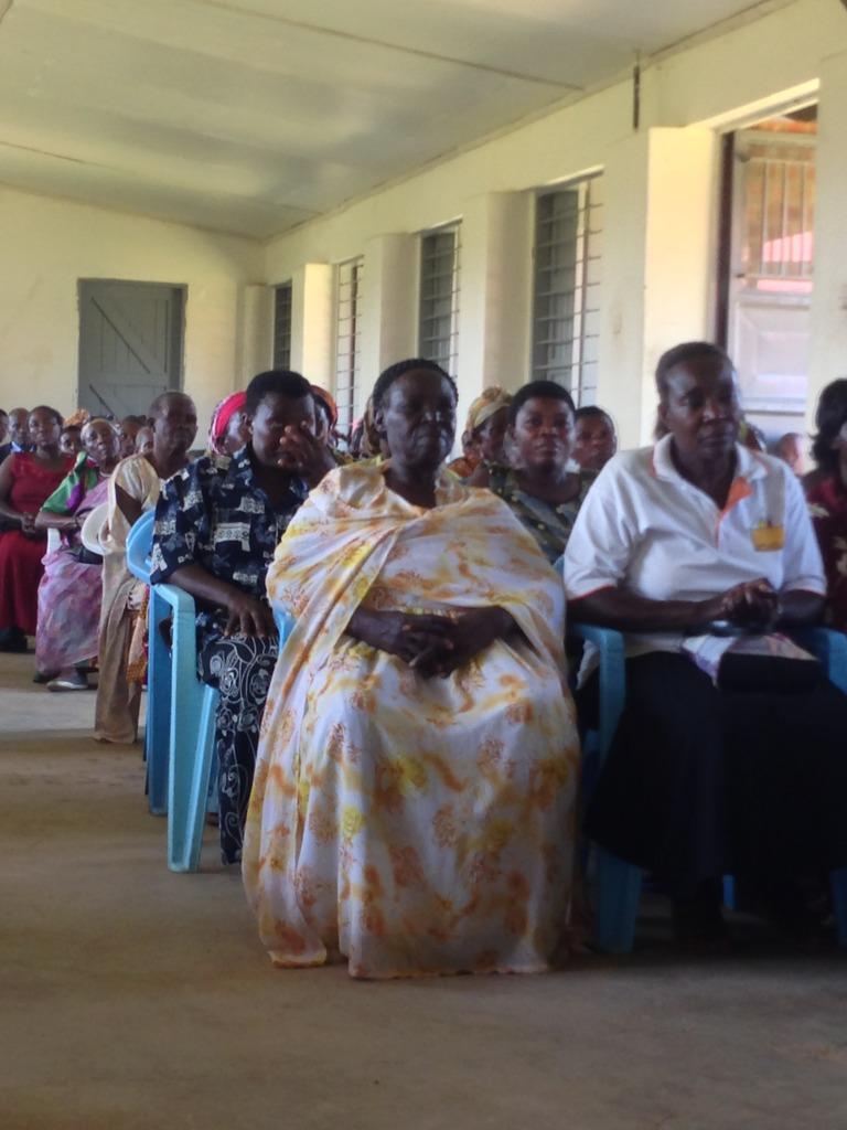 Grannies Attending the Groundbreaking