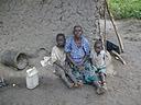 Karigirwa With Her Grandchildren