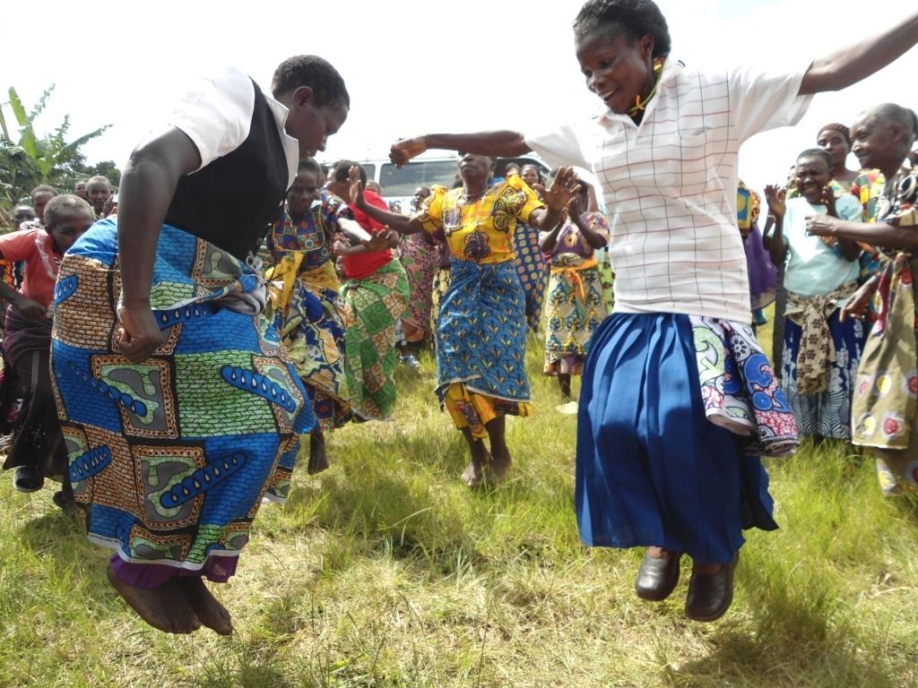 Nyaka Grandmothers Dancing