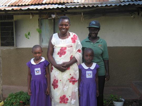 Grandmother with Nyaka Students