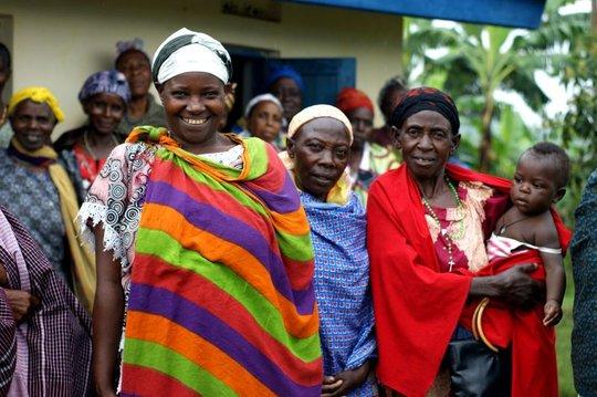 Proud Grandmothers Celebrate Their Grandchildren