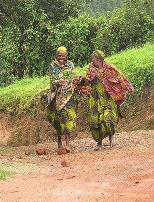 Grandmothers Walking Together