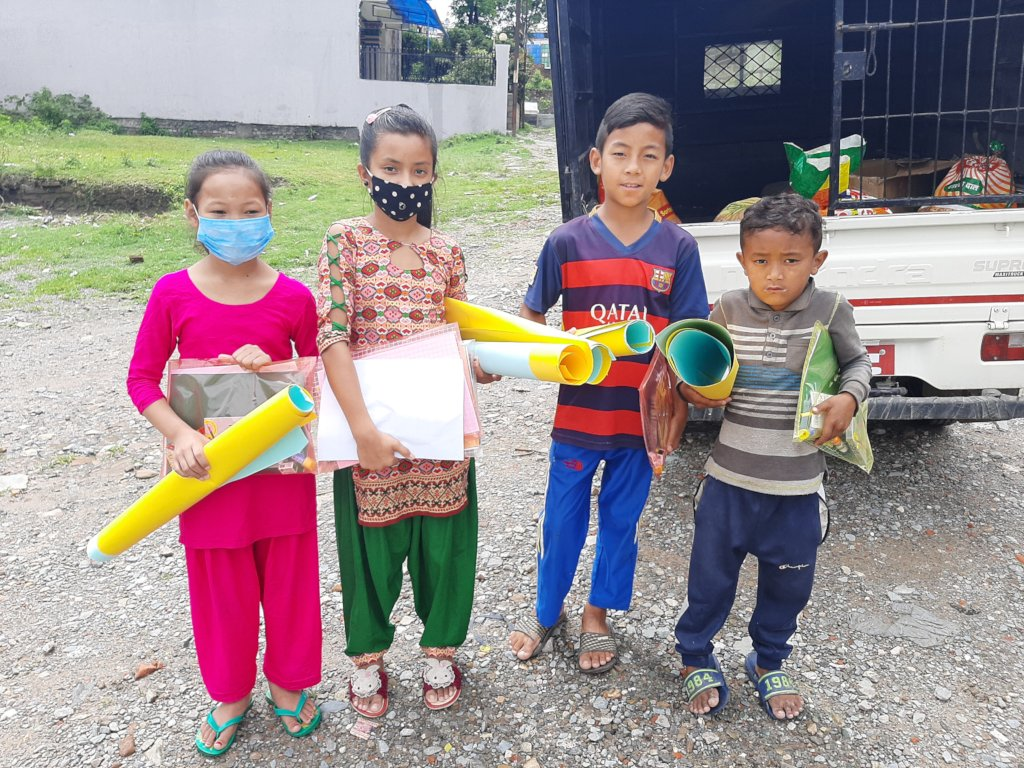 After-School Program for Children in Nepal