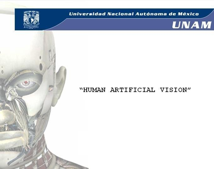 Human Artificial Vision. Prosthesis for the blind.