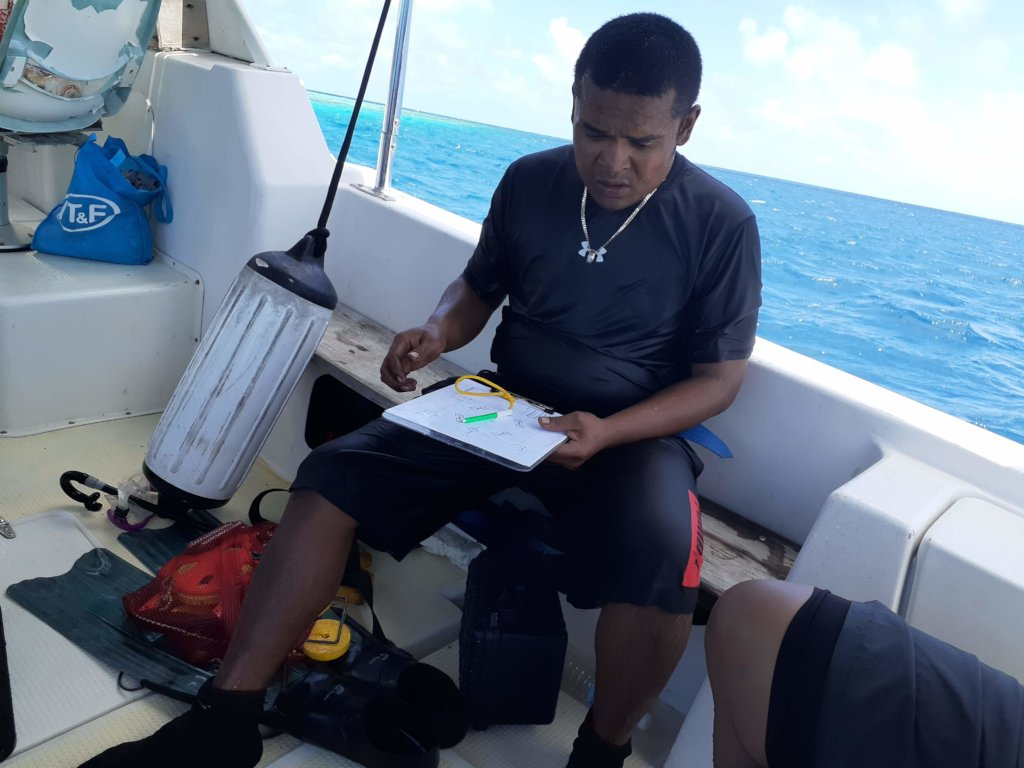 Back on the boat with the data