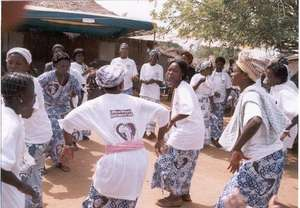 Ex-Trokosis Dancing