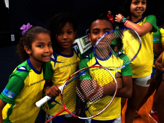 Empower kids and families in Rio to battle Covid