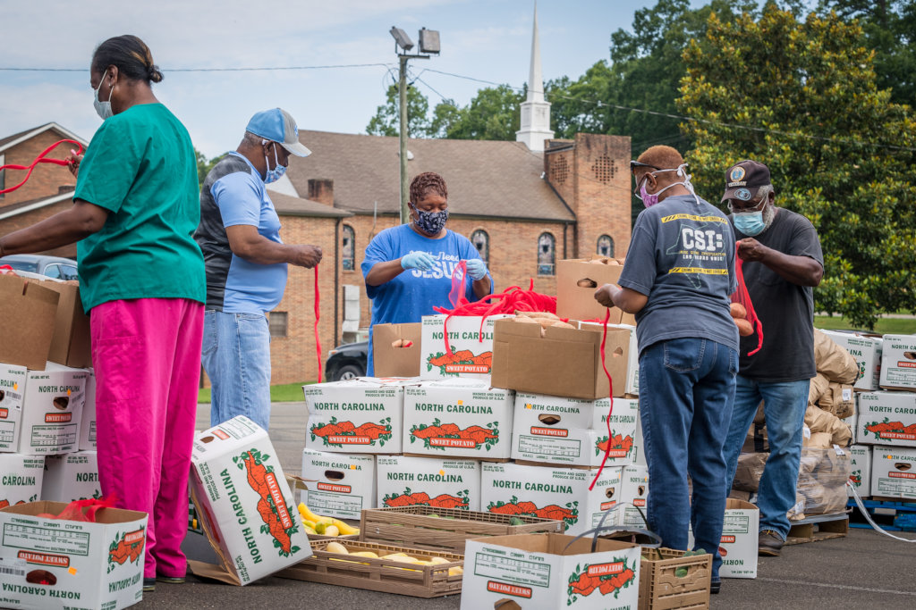 Deliver Fresh Food to NC Families During COVID-19