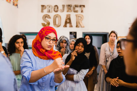 Help Empowerment Facilitators Reach 700 Teen Girls