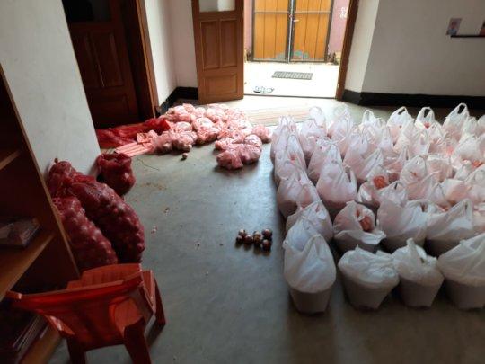 Prepared food donations