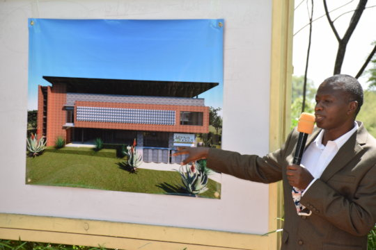 James Musyoka shares the vision for the LRC Annex