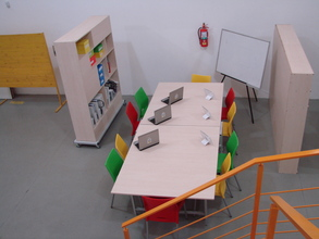 The renovated space