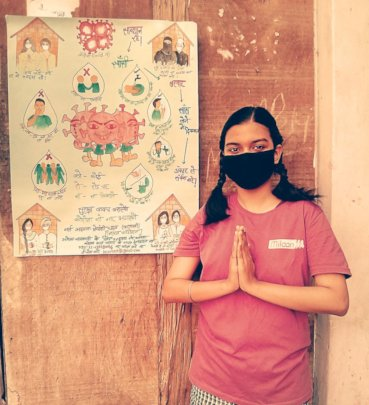 Covid-19 Awareness Campaign by Girl Leaders