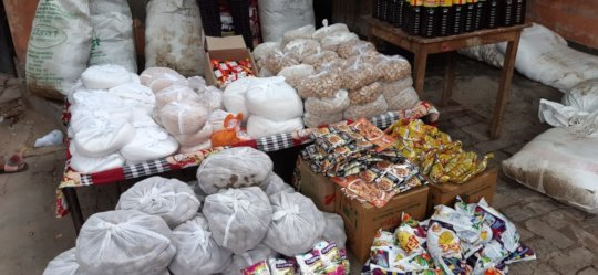 Ration procured for families in need