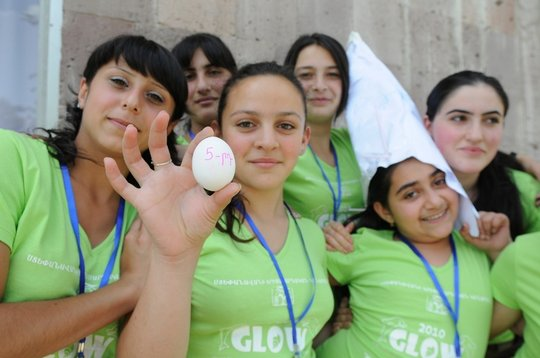 GLOW girls leadership and empowerment project