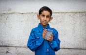 Clean drinking water for persons with disabilities