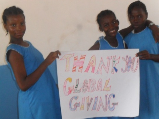 Thank you GlobalGiving