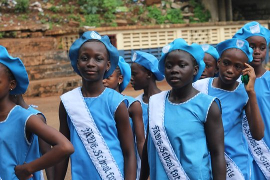 FAWE Girls Academic Year Completed